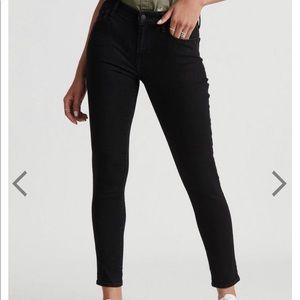 Lucky Brand skinny black jeans